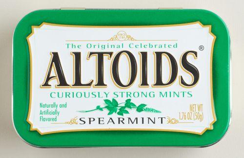 Altoids Spearmint 6 x 50g