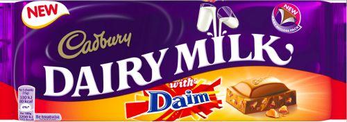 Cadbury Dairy Milk Daim 15 x 120g