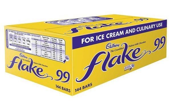 Cadbury Flake 99 144 x 16g