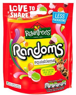 Rowntrees Randoms Squishems 10 x 140g