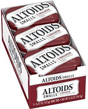 Altoids Small Cinnamon 9 x 10.5g