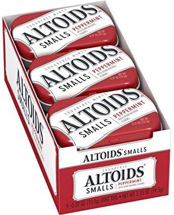 Altoids Small Peppermint 9 x 10.5g