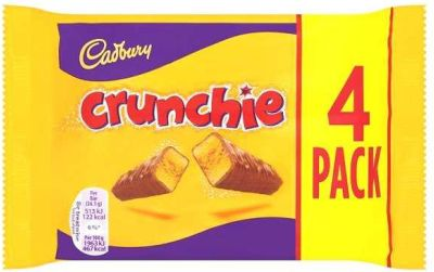 Cadbury Crunchie 4pk x 10 x 104g