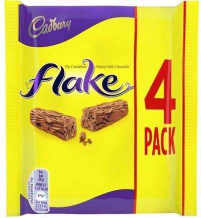 Cadbury Flake 4 pk x 20 x 80g