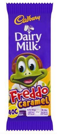 Cadbury Freddo Caramel 60 x 19.5g