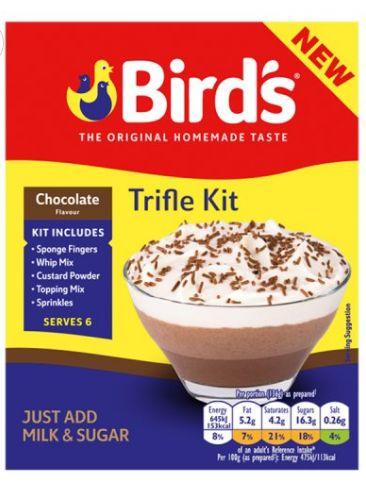 Birds Trifle Mix Chocolate 10 x 141g