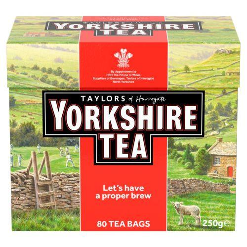 Taylors Tea Bags Yorkshire Red 10 x 80bg
