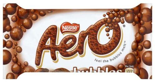 Nestle Aero Bubbly Milk Std  36 x 24g