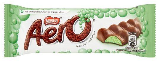Nestle Aero Bubbly Peppermint 36 x 24g