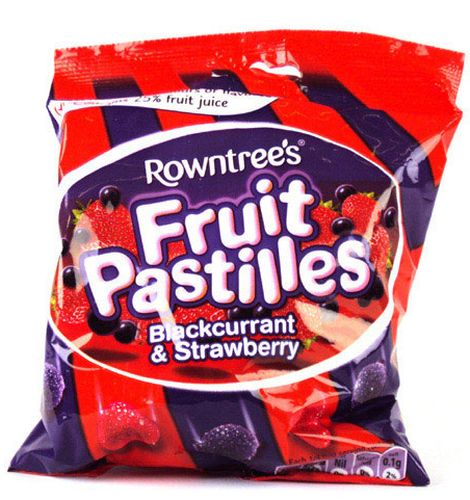 Rowntree Strawberry & Blackcurrant Fruit Pastilles
