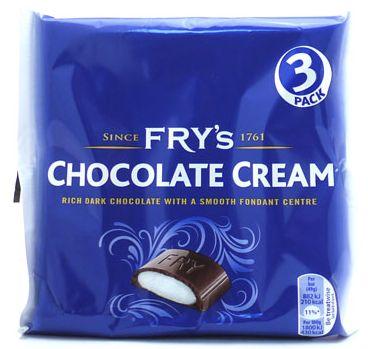 Frys Chocolate Cream 3pk