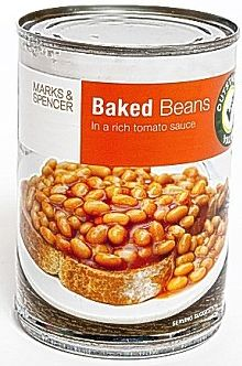 Marks & Spencer Baked Beans 24 x 410g