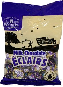 Walkers-NonSuch Bags Milk Chocolate Eclairs 12 x 150g