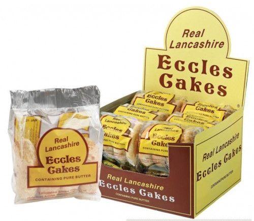 Lancashire Eccles Cakes 12 x 4pk