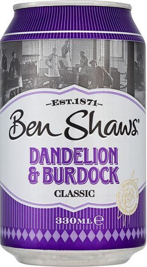 Ben Shaws Dandelion & Burdoch 24 x 330ml