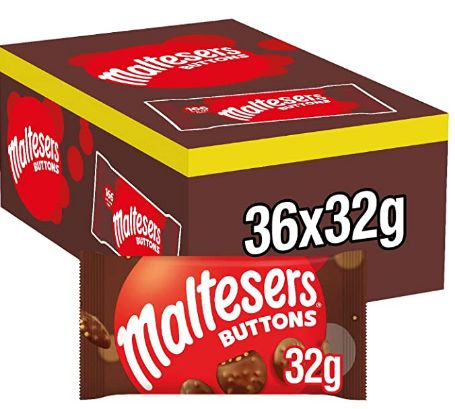 Maltesers Buttons 36 x 32g