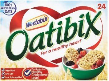 Weetabix Oatibix 12 x 24's