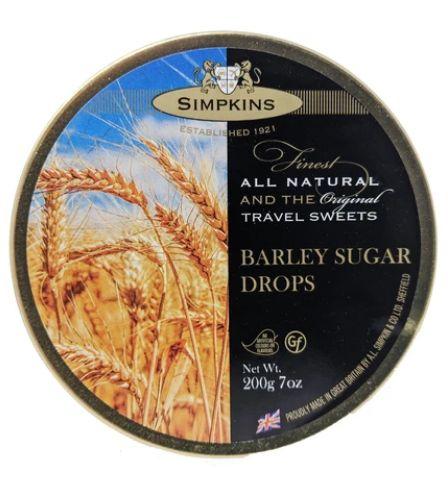 Simpkins Barley Sugar Tin 6 x 200g