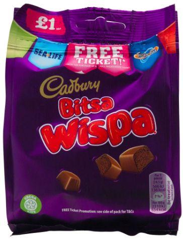 Cadbury Bitsa Wispa Pouch