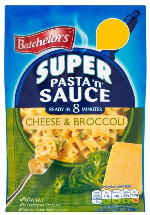 Batchelors Cheese & Broccoli Pasta n Sauce 7 x 99g