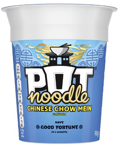 Pot Noodles Chinese Chow Mein 12 x 90g