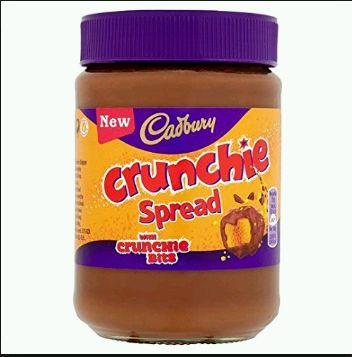 Cadbury Crunchie Spread 6 x 400g