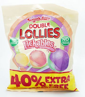 Swizzels Double Lollies Bag