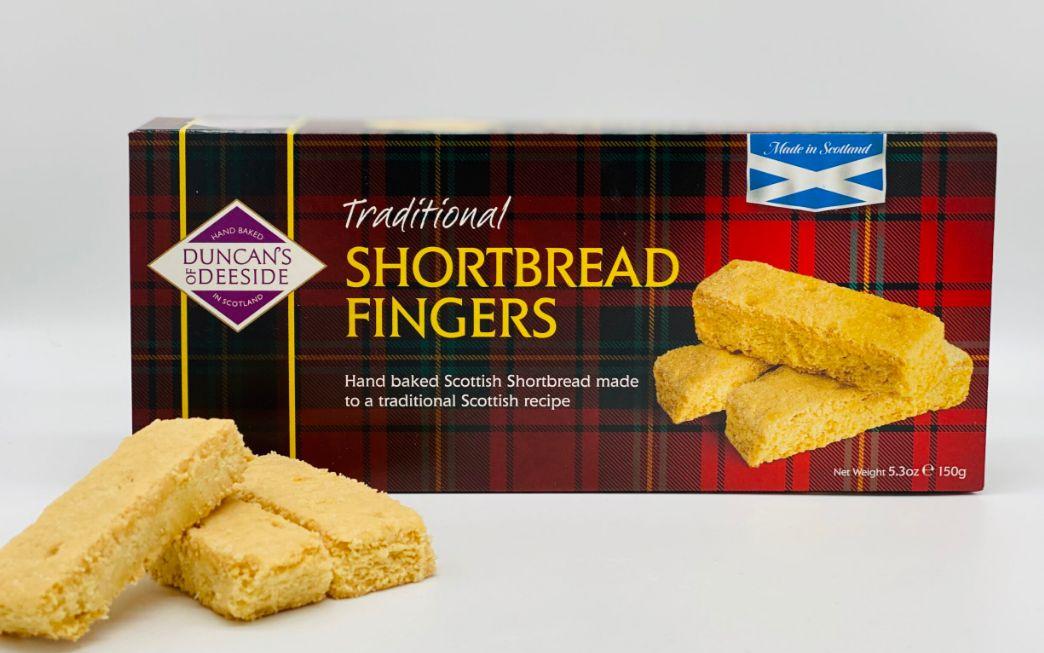 Duncans Shortbread - Traditional Fingers 12 x 150g