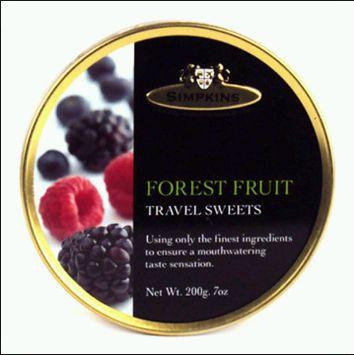 Simpkins Forest Fruit Travel Sweets
