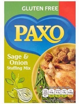 Paxo Sage & Onion Gluten Free