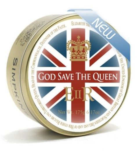Simpkins Mixed Fruit God Save the Queen  Tin 6 x 175g