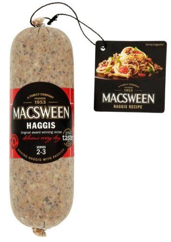 Macsween Lamb Haggis - FROZEN 8 x 227g