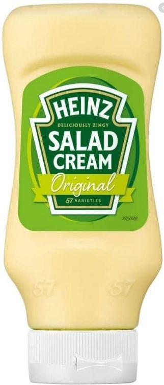Heinz Salad Cream Squeezy 400g