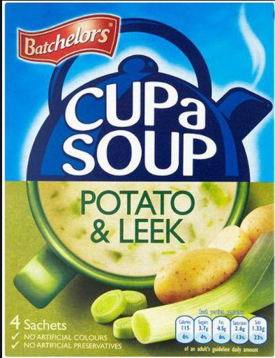 Batchelors Cupa Soup Creamy Leek & Potato 9 x 4pk x 107g