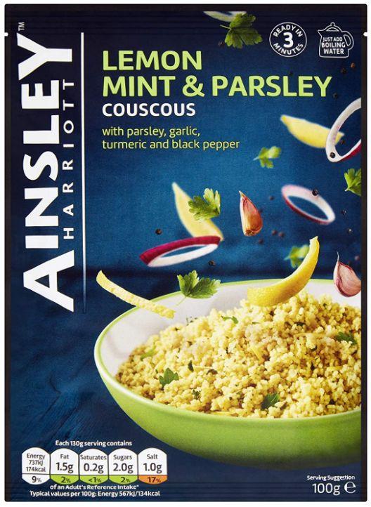 FP Ainsley Harriott Lemon Mint & Parsley Couscous 12 x 100g
