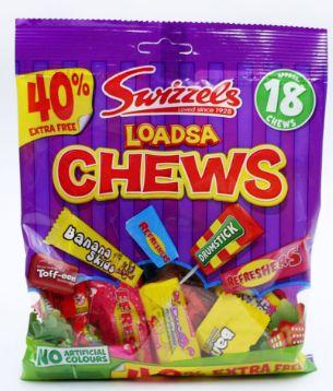 Swizzels Loadsa Chews Bag 12 x 189g