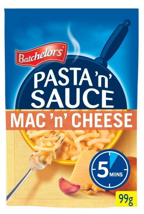 Batchelors Macaroni & Cheese Pasta n Sauce 7 x 99g