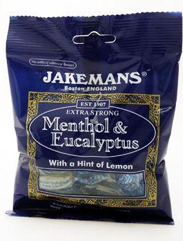 Jakemans Lozenges Menthol & Eucalyptus