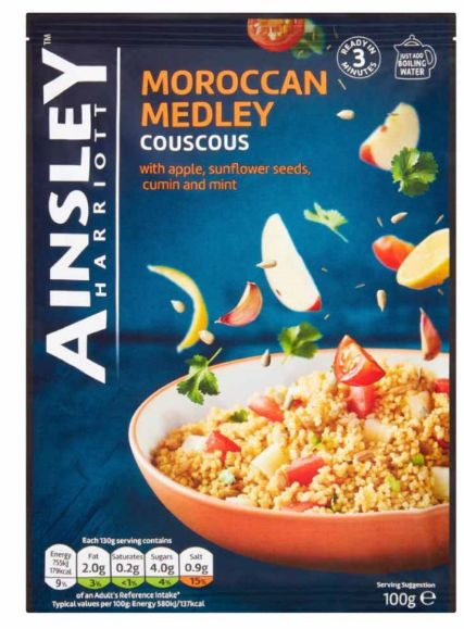 Ainsley Harriott Moroccan Medley Couscous 12 x 100g