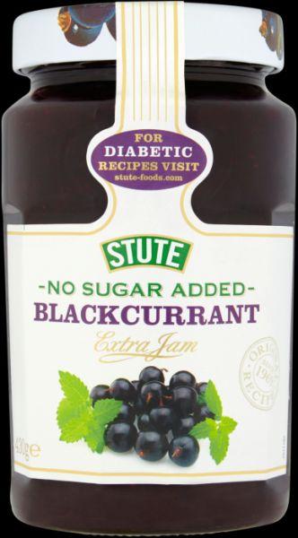 Stute NAS Blackcurrant Jam 6 x 430g