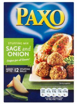 Paxo Sage & Onion 170g