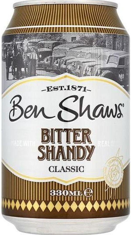 Ben Shaws Shandy 24 x 330ml