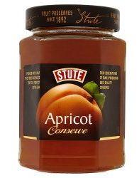 Stute Regular Apricot Conserve Extra Jam  6 x 340g