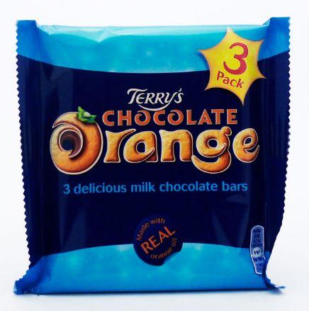 Terry's Milk Chocolate Orange 16 x 3pk x 105g