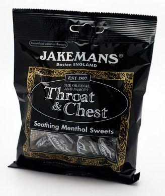Jakemans Lozenges Throat & Chest
