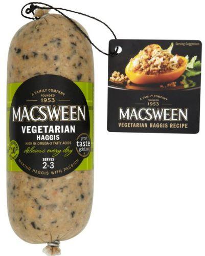 Macsween Highland Veggie Crumble Haggis - FROZEN 8 x 227g