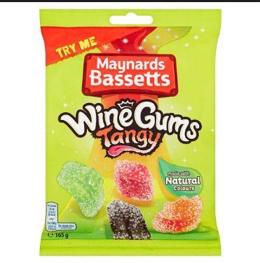 Maynard-Bassetts Wine Gums Tangy