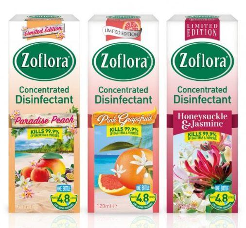 Zoflora Antibacterial Disinfectant Summer Edition